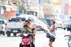 Songkran-Festival 2015 Stockfoto