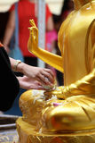 Songkran festival Royaltyfri Foto
