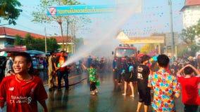 Songkran festival Royaltyfria Bilder