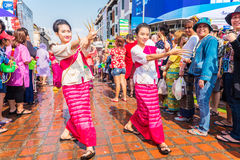 Songkran festival. Royalty Free Stock Photography
