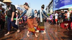 Songkran festival. stock video