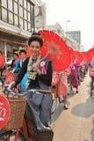 Songkran festival in Chiangmai. Stock Photos