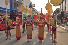 Songkran festival in Chiangmai. Stock Photography