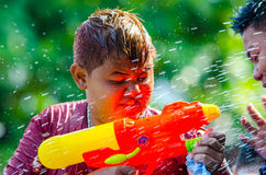 Songkran Festival 2015 Stock Photos