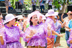 Songkran Festival 2015 Royalty Free Stock Photography