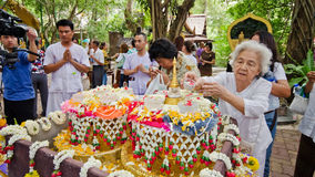 Songkran festival Royalty Free Stock Photography