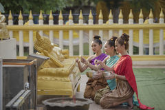Songkran festival Royalty Free Stock Photography