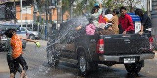 Songkran-Festival Thailand Lizenzfreie Stockfotografie