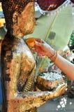 Songkran festival, Thailand Arkivbild