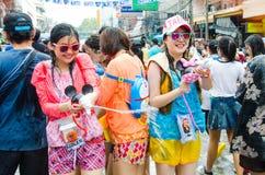 Songkran Festival in Thailand Royalty Free Stock Image