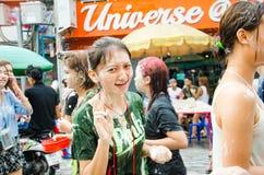 Songkran Festival in Thailand Royalty Free Stock Photos