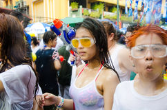 Songkran Festival in Thailand Royalty Free Stock Photography