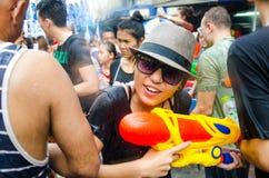 Songkran Festival in Thailand Stock Image
