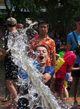 The Songkran Festival in Thailand. Royalty Free Stock Images