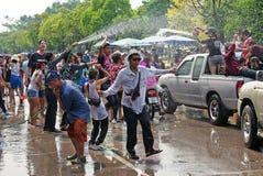 The Songkran Festival in Thailand. Stock Image