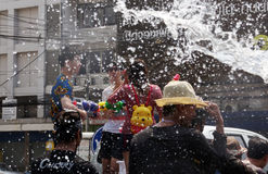 The Songkran Festival in Thailand. Royalty Free Stock Image