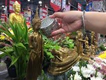 Songkran royaltyfria foton