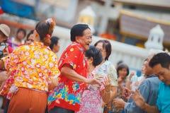 Songkran festiwal Obrazy Stock