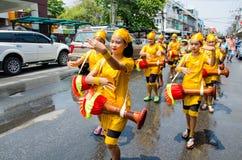 Songkran festiwal 2015 Zdjęcie Stock