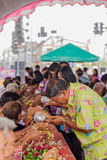 Songkran festiwal Zdjęcia Royalty Free