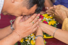 Songkran festiwal Fotografia Stock