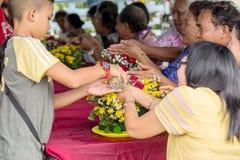 Songkran festiwal Zdjęcie Stock