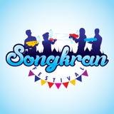 Songkran festiwal Obraz Royalty Free