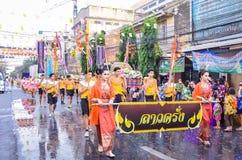 Songkran festiwal Zdjęcia Stock