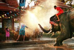 Songkran festiwal obraz stock