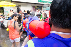 Songkran festiwal na Kwietniu 14, 2015 Chiangmai, Tajlandia Obraz Stock