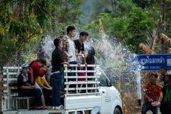 Songkran festiwal Thailand Fotografia Royalty Free