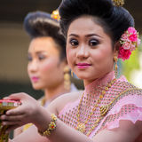 Songkran festiwal w Bangkok obraz stock