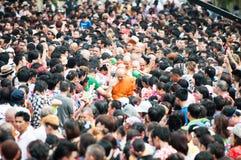 Songkran festiwal w NONGKHAI TAJLANDIA Zdjęcia Royalty Free