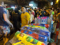 Songkran - het nieuwe jaar van Thailand Stock Afbeeldingen