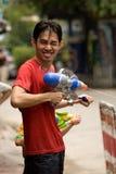 Songkran het Thaise Nieuwjaar` s festival Stock Afbeeldingen