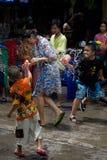 Songkran le festival thaïlandais du ` s de nouvelle année Photo stock