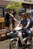 Songkran le festival thaïlandais du ` s de nouvelle année Photographie stock