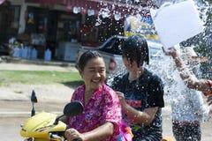 Songkran - Nieuwjaar in Thailand Stock Afbeeldingen