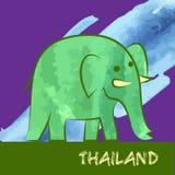 Songkran, nouvelle année thaïlandaise, festival de l'eau Illustration Stock