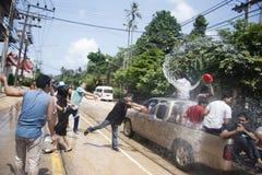 Songkran - nuovo anno in Tailandia Immagini Stock