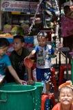 Songkran Tajlandzki nowego roku ` s festiwal Zdjęcia Stock