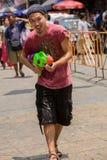 Songkran Tajlandzki nowego roku ` s festiwal Obraz Royalty Free