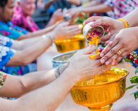 Songkran Thai new year Royalty Free Stock Photos