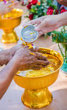 Songkran Thainew year Stock Photography