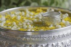 Songkran wody puchar Obrazy Royalty Free