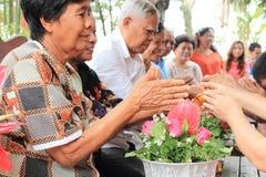 Songkranfestival Stock Afbeelding