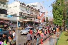 Songkranfestival 2014 Stock Fotografie