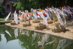 Songkranfestival 2015 op 15 April Royalty-vrije Stock Fotografie