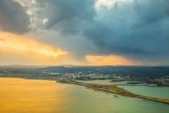 SONGSAN ILCHULBONG in Jeju island , South Korea. SONGSAN ILCHULBONG in Jeju island South Korea stock photos