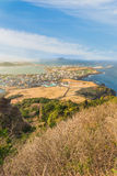 Songsan Ilchulbong view point in Jeju island, South Korea Stock Images